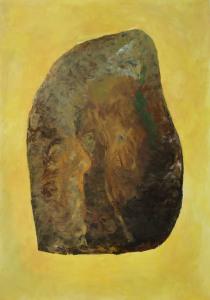 Stone-XXIX-olieverf-op-papier-2016