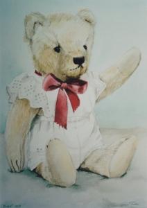 knuffelportret-geklede-beer